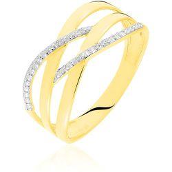 Bague Joassine Or Jaune Diamant - Histoire d'Or - Modalova