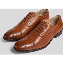 Chaussures en cuir motif fleuri - Jules - Modalova