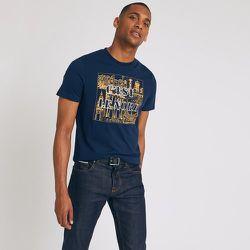 Tee-shirt col rond motif Hauts de France - Jules - Modalova