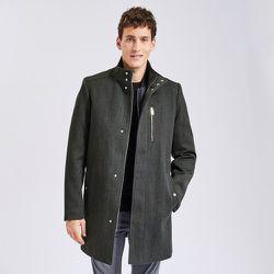 Manteau zippé col montant - Jules - Modalova