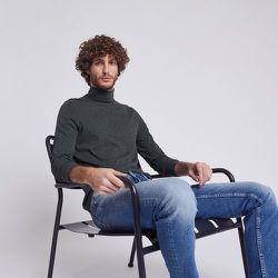 Tee-shirt col roulé uni Gris Homme - Jules - Modalova