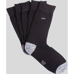 Paires de chaussettes à talons pointes contrasté - Jules - Modalova