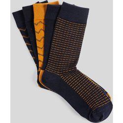 Lot de 5 paires de chaussettes coton issu de l'agr - Jules - Modalova