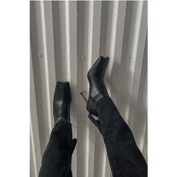 Bottes Demi-Lune - Black - NA-KD Shoes - Modalova