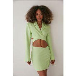 Cache-coeur Blazer Court - Green - Angelica Blick x NA-KD - Modalova
