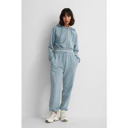 Biologique Pantalon De Survêtement - Blue - NA-KD Reborn - Modalova