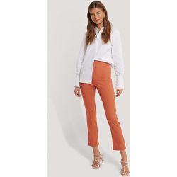 Pantalon De Costume Fendu À L'Arrière - Orange - Gine Margrethe x NA-KD - Modalova