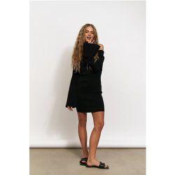Robe Mini En Maille À Épaules Nues - Black - Hanna Schönberg x NA-KD - Modalova