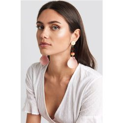 MANGO Iris Earrings - Pink,Orange - Mango - Modalova