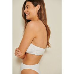 Haut De Bikini Bandeau Recyclé - Offwhite - Mathilde Gøhler x NA-KD - Modalova