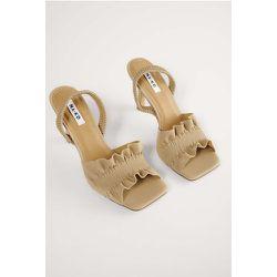 Talons À Volants - Beige - NA-KD Shoes - Modalova
