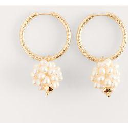 Boucles D'Oreilles Pendantes En Perles - Gold - NA-KD Accessories - Modalova