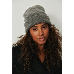 Bonnet en laine épaisse - Grey - NA-KD Accessories - Modalova
