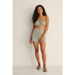 Short En Maille Crochet - Green - NA-KD Trend - Modalova