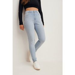 Biologique jean slim taille haute - Blue - Nina Houston x NA-KD - Modalova
