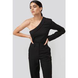 One Shoulder Shirt - Black - NA-KD Classic - Modalova