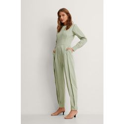 Biologique Combinaison Pantalon - Green - NA-KD Trend - Modalova