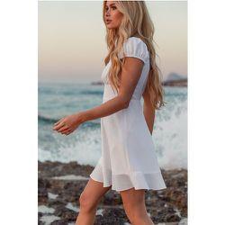Recyclée Robe Mini - White - Pamela x NA-KD Reborn - Modalova