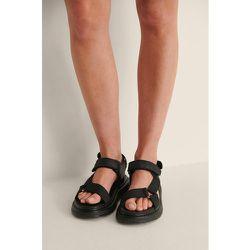 Faites En Velcro Sandales - Black - NA-KD Shoes - Modalova