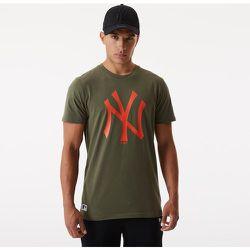 T-shirt Team Logo New York Yankees kaki - newera - Modalova