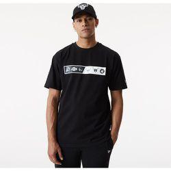 T-shirt noir oversize logo NBA - newera - Modalova