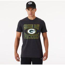 T-shirt Green Bay Packers gris avec logo de l'équipe - newera - Modalova