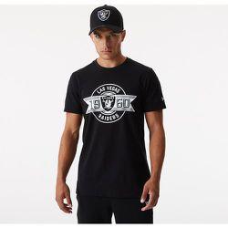 T-shirt Box Logo des Las VegasRaiders, noir - newera - Modalova
