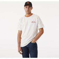 T-shirt oversize New Era à fines rayures blanc - newera - Modalova