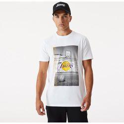 T-shirt blanc Photographic desLA Lakers - newera - Modalova