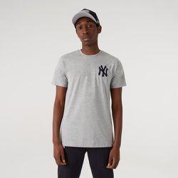 T-shirt logo à manches courtes des New York Yankees, gris - newera - Modalova