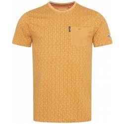 Paisley Allover Print s T-shirt SS6807-BISCUIT - Lambretta - Modalova