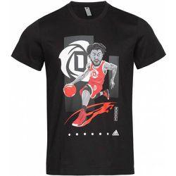 X Derrick Rose Geek Up s T-shirt FM4773 - Adidas - Modalova