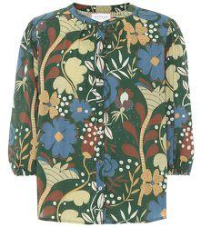 Chemise Affie imprimée en coton à fleurs - Velvet - Modalova