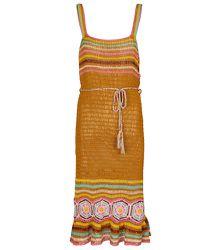 Robe midi Lila au crochet - ANNA KOSTUROVA - Modalova