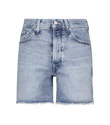 Short en jean Billie à taille haute - 7 For All Mankind - Modalova