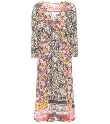 Robe longue Voletta en coton à fleurs - Velvet - Modalova