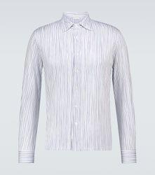 Chemise rayée en coton - CARUSO - Modalova