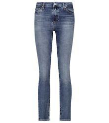 Jean Mari à taille haute en coton - AG Jeans - Modalova