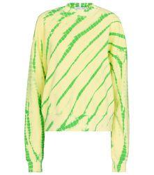 Sweat-shirt White Label en coton tie & dye - Proenza Schouler - Modalova