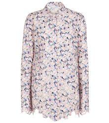 Chemise en coton à fleurs - Paco Rabanne - Modalova