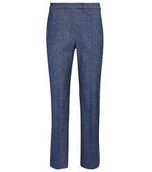 Pantalon droit Kurt en lin et coton mélangés - 'S Max Mara - Modalova