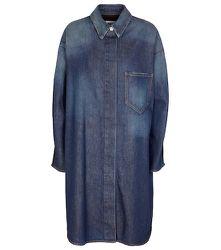 Robe chemise en jean - MM6 Maison Margiela - Modalova
