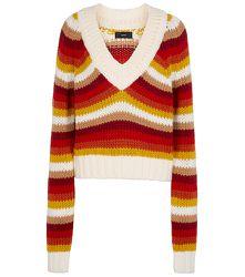Pull rayé Colors Of South America en laine vierge - ALANUI - Modalova