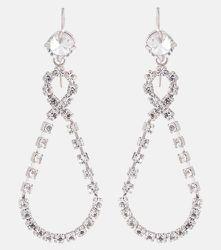 Boucles d'oreilles à cristaux - Miu Miu - Modalova