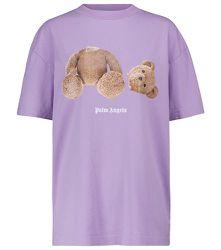 T-shirt imprimé en coton - Palm Angels - Modalova