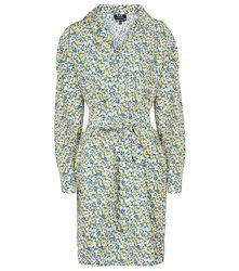 Robe Melissa en soie et coton à fleurs - A.P.C. - Modalova