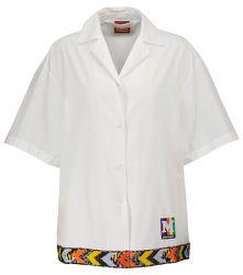 X Missoni – Chemise à logo en coton - Palm Angels - Modalova