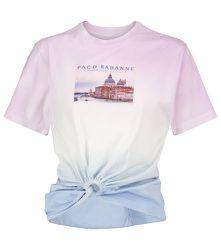 T-shirt imprimé en coton - Paco Rabanne - Modalova