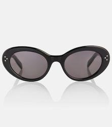 Lunettes de soleil ovales - CELINE Eyewear - Modalova