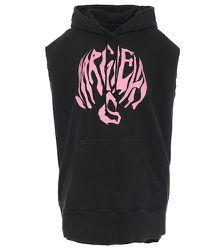Sweat-shirt à capuche imprimé en coton - MM6 Maison Margiela - Modalova